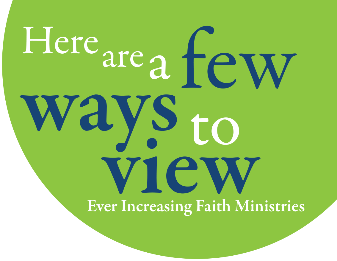 Watch EIF | Ever Increasing Faith Ministries